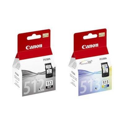 Originales genuinos Canon PG512 pg-512 negro CL513