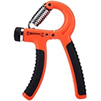 Oyamihin Ejercicio Power Hand Grip 10-40 Kg Fuerza de antebrazo de muñeca Ajustable -