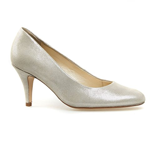 Van Dal Shoes Womens Court Langham in Natural Stardust