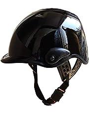 AutokraftZ AZ-VSTARK Half Face Helmet (Black, L)