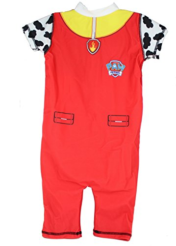 Paw Patrol Marshall Boys 50+ UV Protection Swimming Suit Costume -4-5 Years (Boys Uv-bademode)