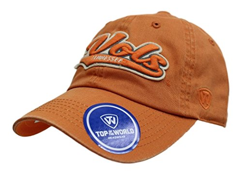 Top of the World Tennessee Volunteers NCAA Park Garment Washed Slouch Hat Hut