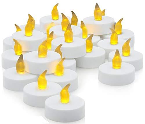 Ideal Products 30 Velas LED Efecto Parpadeante romántica