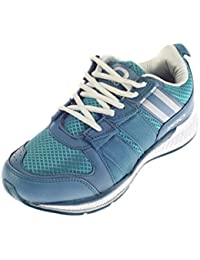 Pro (from Khadims) Mens Textile/Mesh Sports Sneakers - B078JS39F1