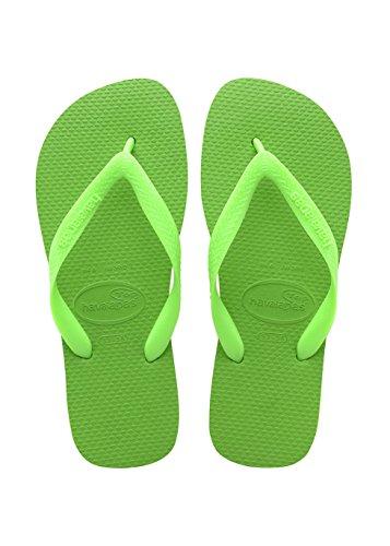 Havaianas Top, Infradito Unisex Adulto, Verde (Green Neon/Green Neon 9500), 37/38 EU (35/36 BR)
