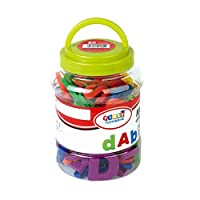 hou zhi liang Strong Magnetic Letters and Numbers Non-Toxic Educational Alphabet Toys Colorful Fridge Magnets 80 PCS/SET