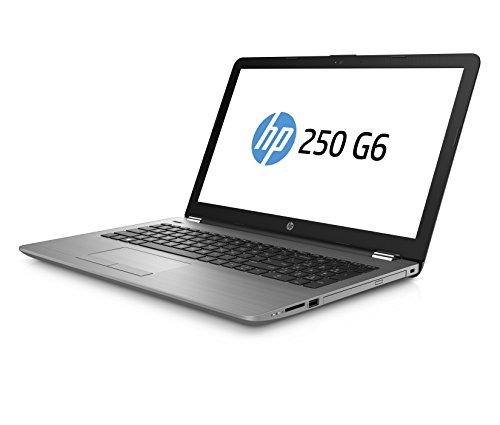 HP 250 G6 SP 2UC30ES 156 Zoll comprehensive HD Business Notebook Intel primary i5 7200U 8GB RAM 256GB SSD Intel HD Grafikkarte DVD Writer Windows 10 grau Notebooks