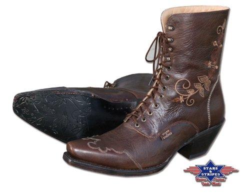 Stars & Stripes Westernstiefel Boot Ladies Schnürstiefel