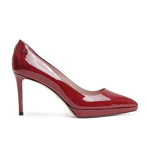 Gucci Femme 388314BNC006527 Rouge Cuir Escarpins