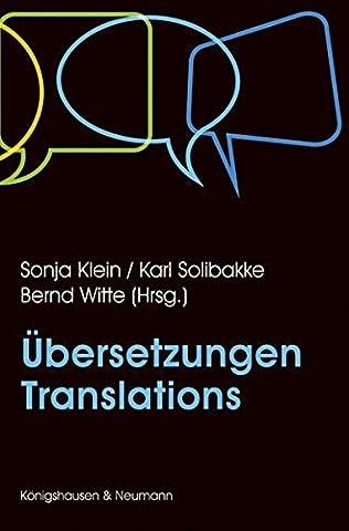 Übersetzungen – Translations (Benjamin Blätter)