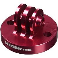 Kingtide Alu Stativ Adapter passend für GoPro & Actionpro - Tripod Monopod red