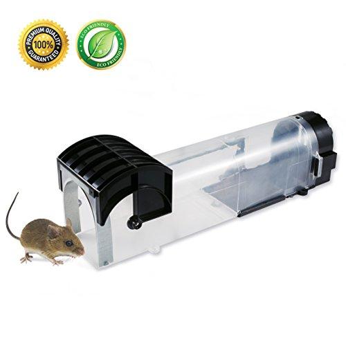 Mausefalle Lebend - Original Vegard Maus Lebendfalle - die tierfreundliche Mausefalle für Haushalt Garten und Büro - Umweltfreundlich