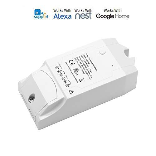 Drahtlose WiFi Schalter wifi smart switch for alexa ON/Off 16A Mit Echtzeit Stromverbrauch Messung...