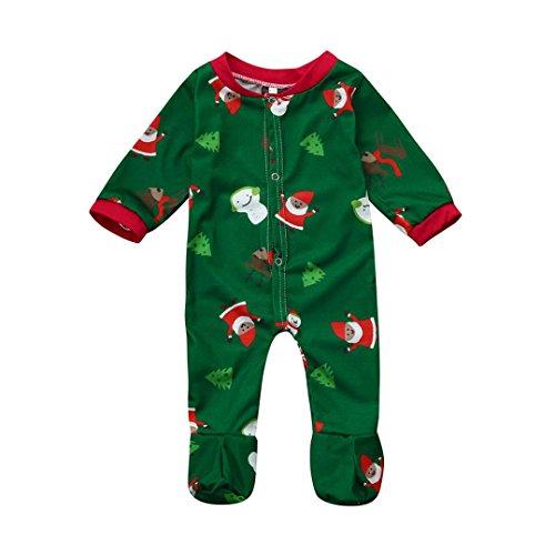 smileq Weihnachts Familie Passende Schlafanzüge-Set Dad Mom Top pabts Set Kinder Strampler Merry Christmas Geschenk, Blue (Kids) (Pjs Kinder Für Weihnachten)