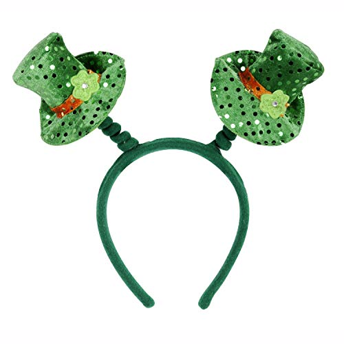 McLaughlin's Irish Shop Irische Leprechaun Hut Boppers Party KopfschmucK (Irish Party Spiele)