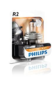 philips 12475b1 scheinwerferlampe r2 visio 1 er blister auto. Black Bedroom Furniture Sets. Home Design Ideas
