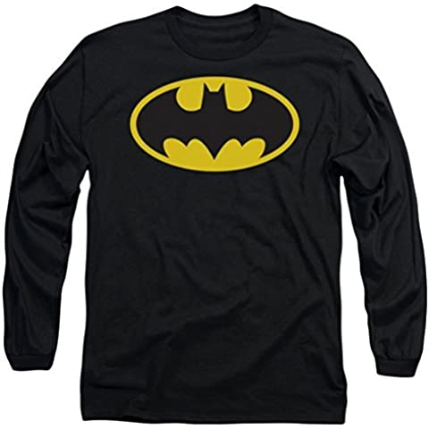 DC Batman Classic Logo Long Sleeve