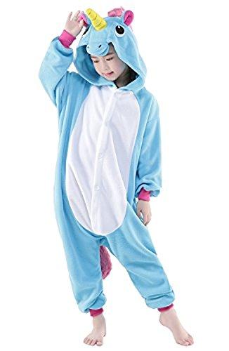 Imagen de abyed kigurumi pijama animal entero unisex para adultos niños con capucha ropa de dormir traje de disfraz para festival de carnaval halloween navidad alternativa