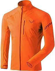 Dynafit Hombre Alpine Wind M JKT softshelljacken, primavera/verano, hombre, color Naranja Flúor, tamaño 50
