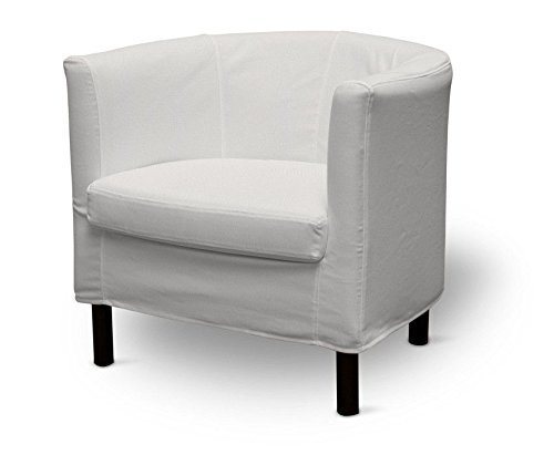 Dekoria Fire Retarding Ikea Solsta armchair cover - off white