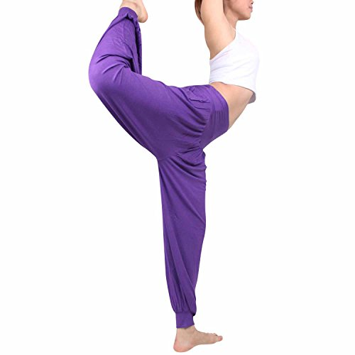 MLAN - Pantalon -  Femme Violet