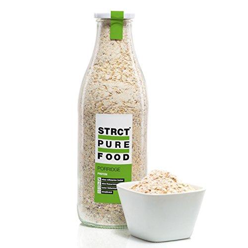 Strct Pure Food Protein Porridge (560 g) - eiweißreich, zuckerfrei, reich an Ballaststoffen