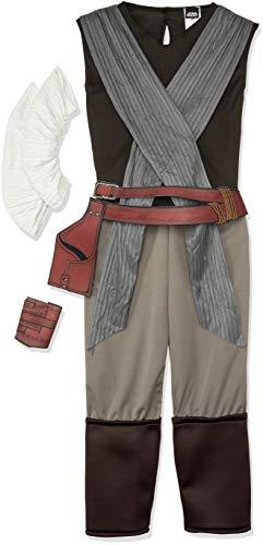Star Wars Die letzten Jedi Rey Damen Erwachsene Kostüm, Mittel UK 12-14 ()