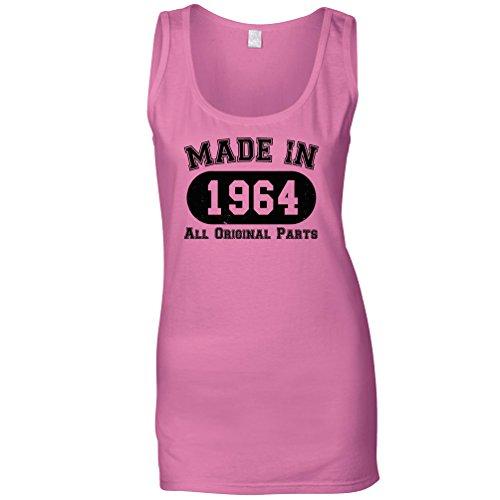 Tim and Ted Compleanno Maglia delle Donne Realizzato Nel 1964 Tutte Le Parti Originali della Novità del Regalo Pink