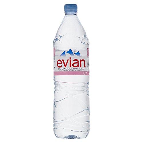 Evian Mineralwasser  Natürliches Mineralwasser Evian 1,5 L im Test
