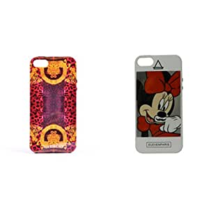 Gaffar Mobile Back Cover for Apple iPhone 5 & 5S (Multicolor)