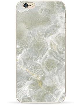 Teryei® TPU Silicona Funda Protección Premium Semi-Transparente Caso cover para iPhone 6 plus/6s plus 5.5 pulgadas...