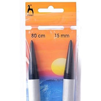 Pony 20mm x 80cm long Circular Knitting Needle