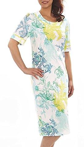 Graziella Nachthemd Celina Sleepshirt 56/58 Nachtwäsche 100% Baumwolle auch Big Size