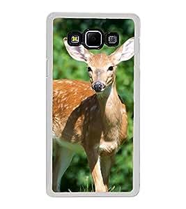 Deer 2D Hard Polycarbonate Designer Back Case Cover for Samsung Galaxy A8 (2015 Old Model) :: Samsung Galaxy A8 Duos :: Samsung Galaxy A8 A800F A800Y
