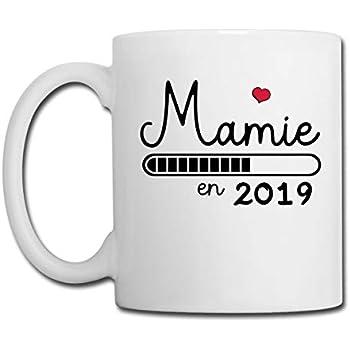 Grossesse Annonce Mamie Mug 2019 Spreadshirt BlancBlanc qzUVSMp