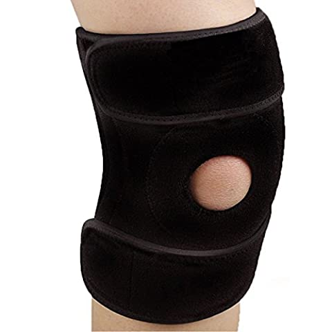 Knee Support,Knee Brace,Breathable Neoprene Knee Support-Compression Knee Sleeve Pad Open Patella-Fully Adjustable-Super Breathable-Perfect for Sports,Gym,Arthritis,Knee Injuries and Meniscal