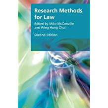 Research Methods for Law (Research Methods for the Arts and Humanities)