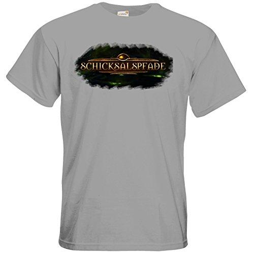 getshirts - Das Schwarze Auge - T-Shirt - Logos - Schicksalspfade pacific grey