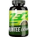 ZEC+ Grüntee Extrakt hochdosiert - 120 Kapseln mit 1000 mg natürlichem Grüner Tee Extrakt pro Kapsel, hoher EGCG-Anteil, reich an Antioxidantien und sekundären Pflanzenstoffen, Made in Germany