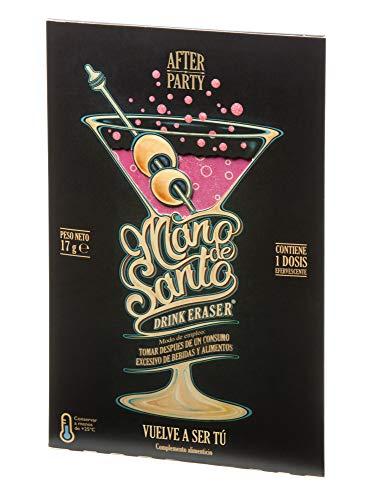 Drink Eraser Mano de Santo -  Stop Resaca -  Pack de 4 dosis efervescentes