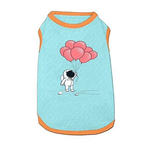 DGGGD Hund Weste, Niedlichen Astronaut Bedruckt Pet Kleidung Kostüm Kleine Haustiere Hund Puppy Katze Kleidung Bekleidung T Shirt Weste