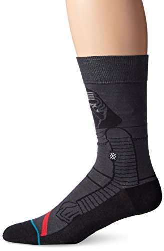 Stance Star Wars Kylo Ren Socks - Dark Grey-Large