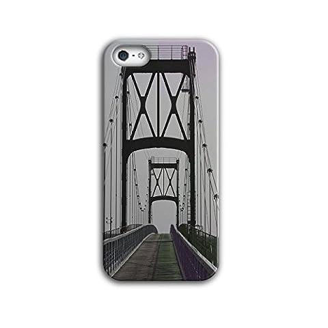 Pont Urbain Route Mode rivière Structure 3D iPhone 5 / 5SÉtui Pour | Wellcoda