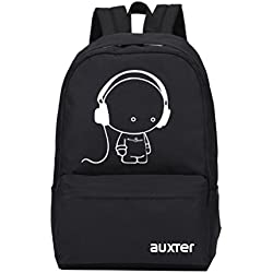 Auxter Music Boy Casual Backpack School Backpack College Backpack