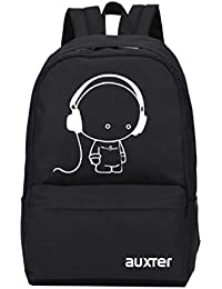 AUXTER Music 15 LTR Black Casual Backpack