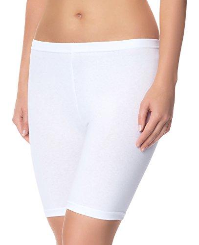 Ladeheid Damen Shorts Long LAMA04 Weiß11