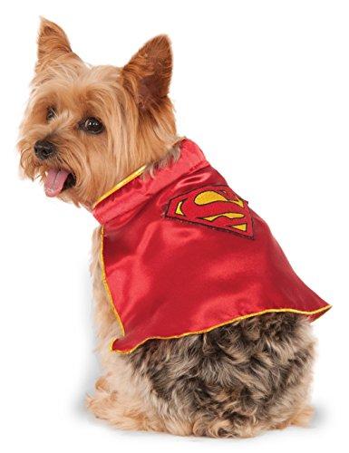 ny DC Comics Super Girl Pet Cape (Comic Girl Kostüme)