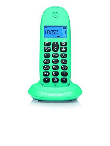 Motorola MOT31C1001TU - Teléfono inalámbrico,