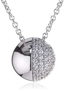 Esprit Damen-Halskette Sphere Glamour 925 Sterling Silber 42cm S.ESNL91830A420