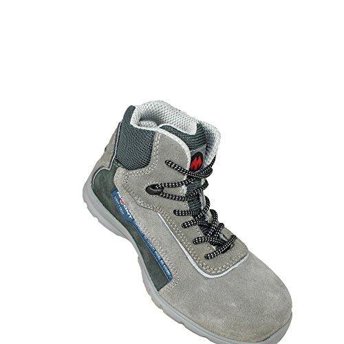 Aimont yankee s1P sRC chaussures de travail chaussures chaussures berufsschuhe businessschuhe plate Gris - Gris